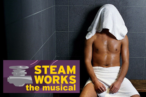"""Steamworks: The Musical"" graphic"